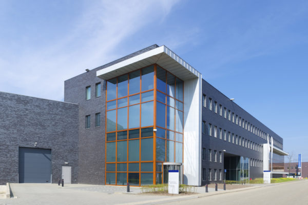 modern office building in utrecht, netherlands